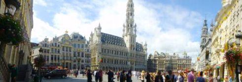 Grand-Place-Alun-alun-kota-Brussels